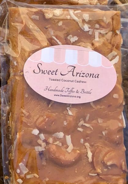 Toasted Coconut Cashew Brittle 3 oz