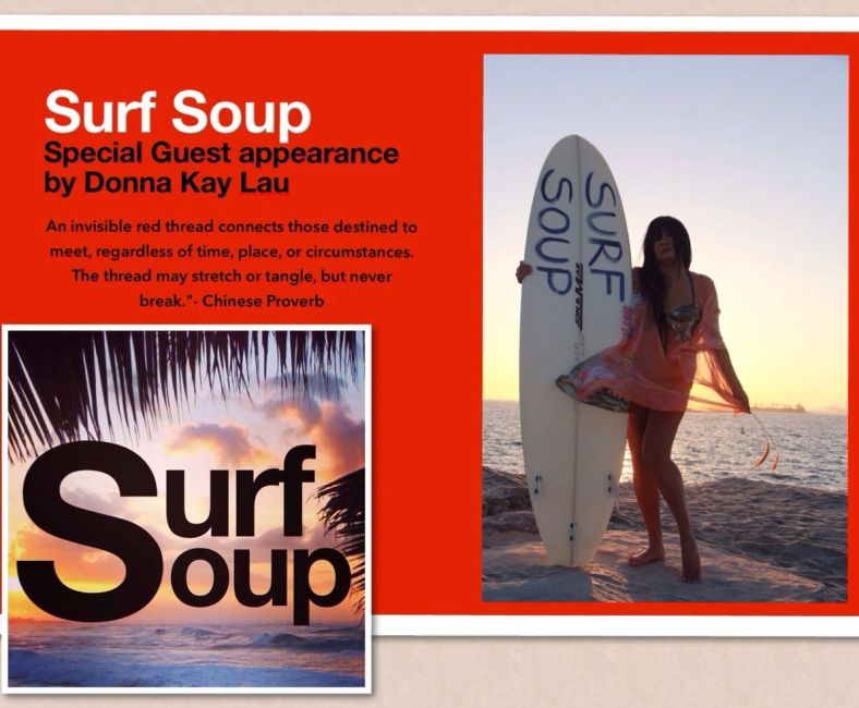 Donna Kay Lau, Surf Soup, surfer, surfing, surf, beach, ocean, island, Hawaii, sea, bluemind,, love