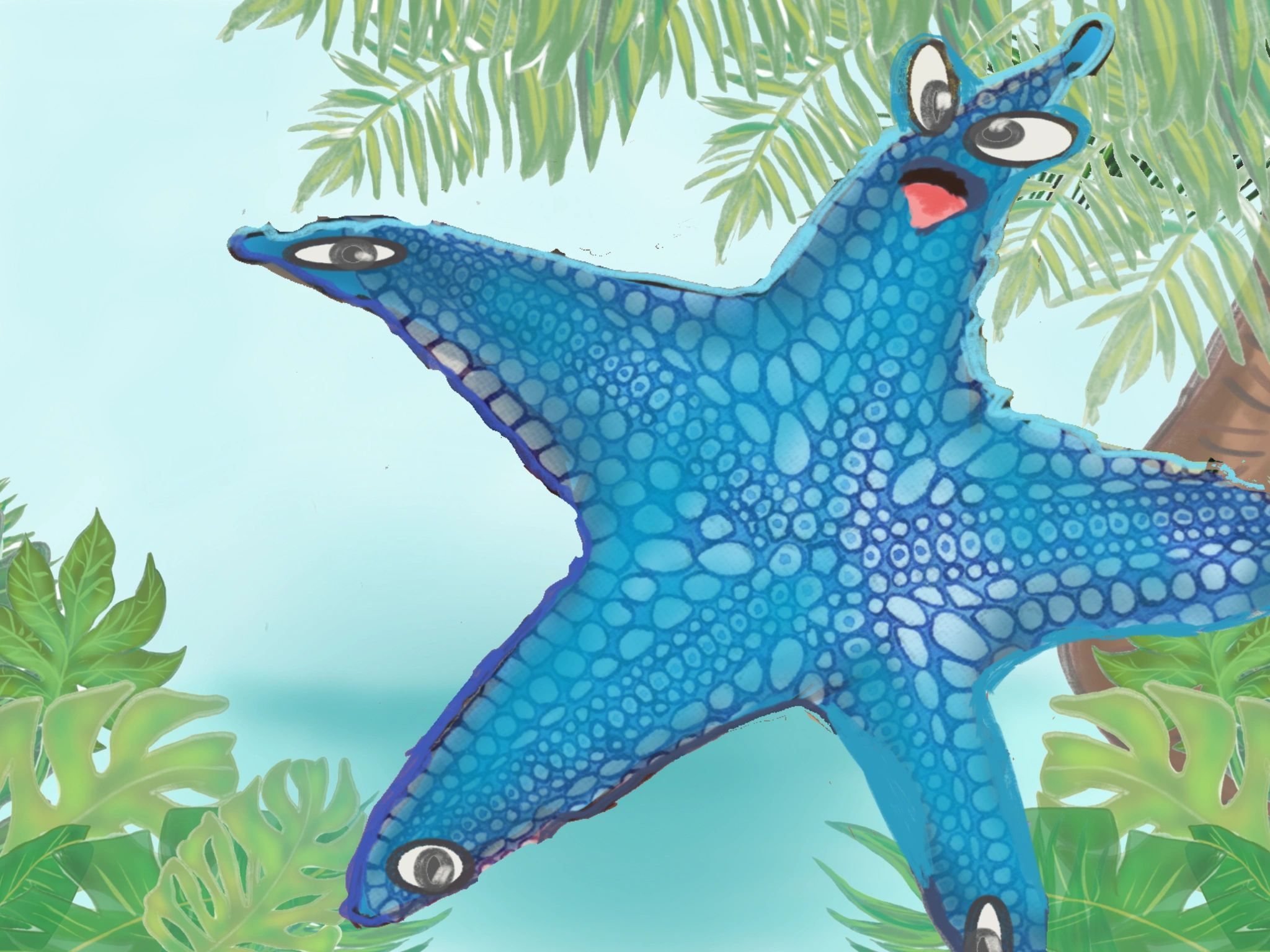 Starfish, sea star, education, teachers, parents, oceanography, ocean, art, educator, homework, love