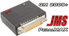 JMS Chips PedalMAX Drive By Wire Throttle Enhancement Device - Plug & Play w/ 2008-2015 GM Trucks and SUV's PX1015GMT