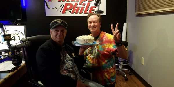 Eddie the Shaman with Jim Phillips of The Phillips Phile on WTKS 104.1 Orlando.