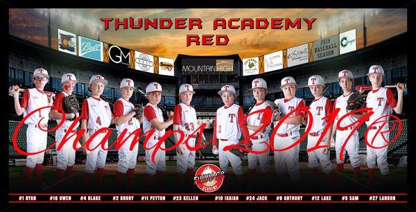Thunder RED Banner