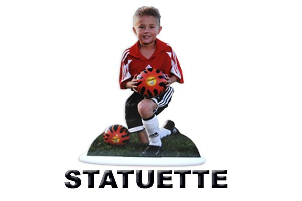 "Individual Cut Out Statuette 12"" TALL"
