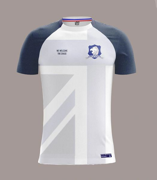 Sons of Struth White Union Flag Jersey