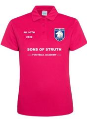 Ladies Pink Polo