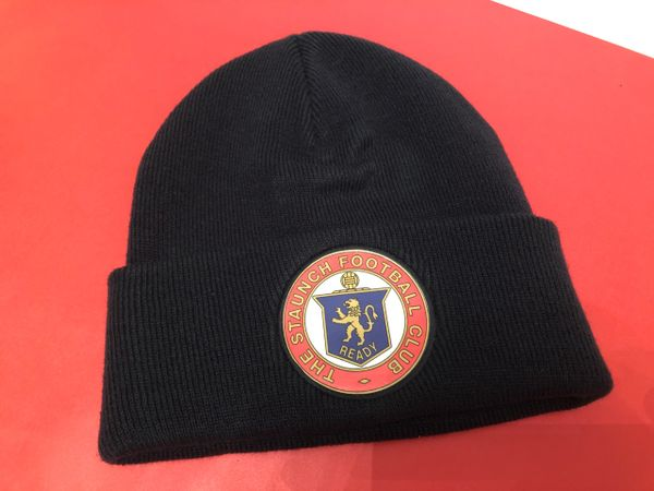 """""""Staunch FC"""" Beanie. Royal or Navy"""