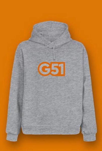 G51 Signature Sports Hoodie Grey