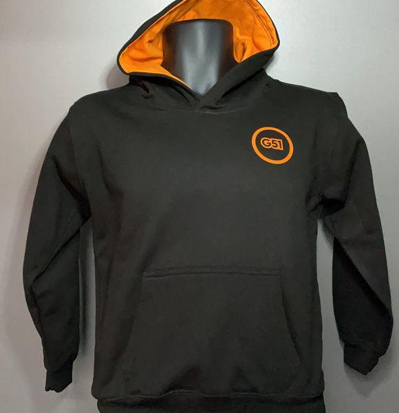 G51 Kids Hoodie/Jogging Suit Black