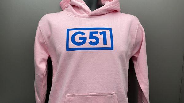 G51 Kids Pink Hoodie