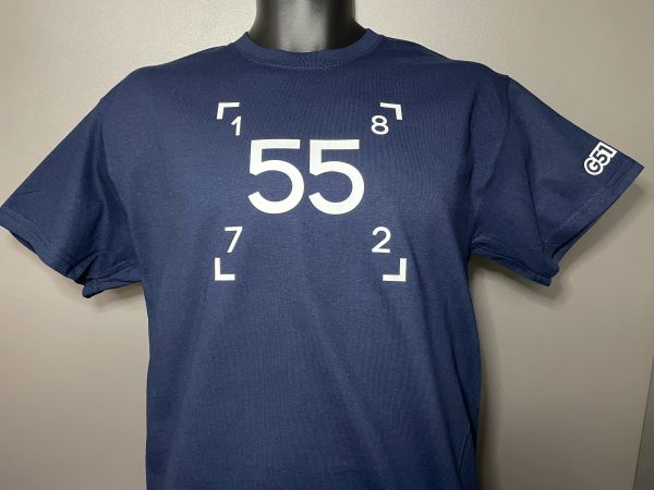 """Heritage"" T-shirt Navy"