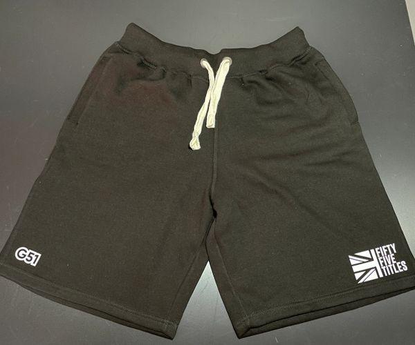 "Heavy Cotton ""55"" Shorts Black"