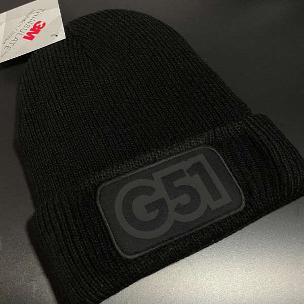 """""""G51 Shadow Project"""" Thinsulate Beanie Black"""