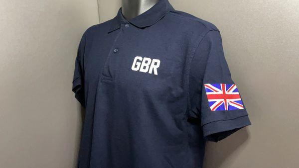 "The ""GBR"" Polo Navy"