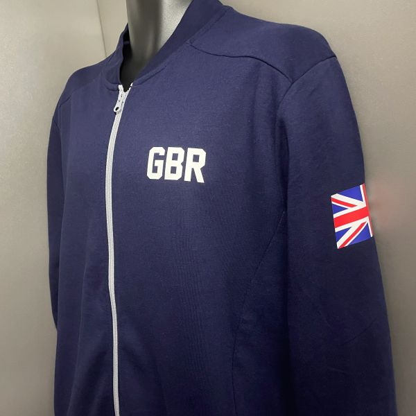The GBR Sweater Track Jacket