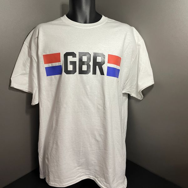 GBR Athletes T-shirt White