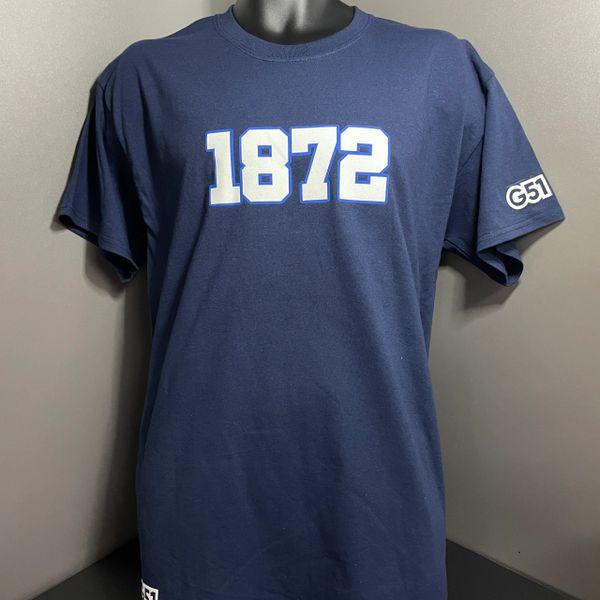 1872 T-shirt Navy