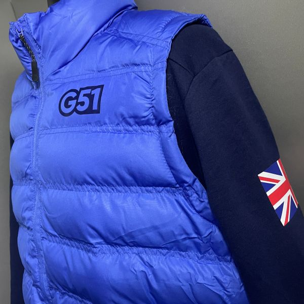 G51 Shadow Project Body Warmer Blue/Navy