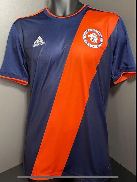 Adidas The Staunch FC Jersey Navy/Orange