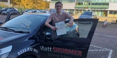 Intensive Driving Lessons Dartford | Daniel P