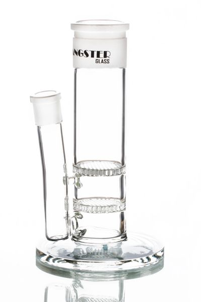 "GGB02 - 9"" Double Honeycomb Multi Piece Bong Base. 45mm Joint"