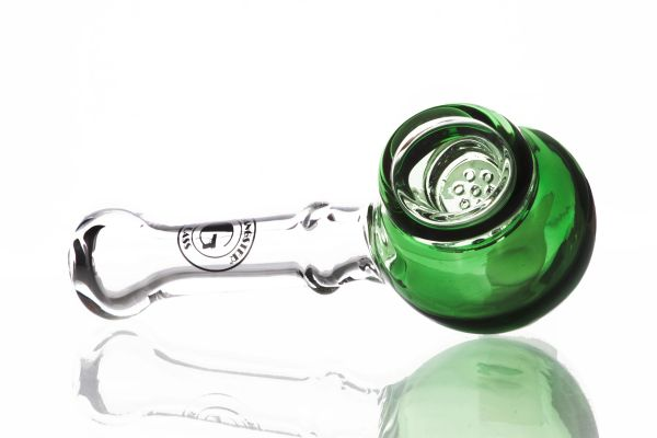 """GP17 - 4"""" Glass Pipe With Built In Screen."""
