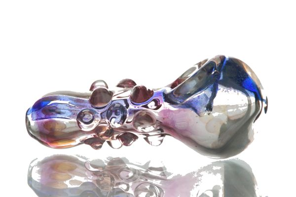 """GP21 - 3.25"""" Color Changing Glass Pipe"""