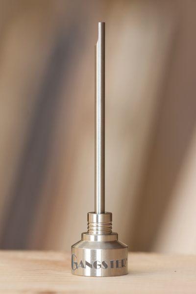 TI05 - 14mm & 19mm, 2 in 1 Titanium Carb Cap
