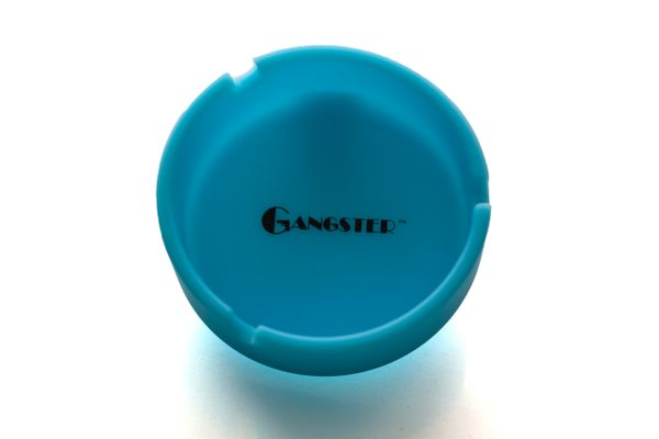 "AT02 - 3.5"" Diameter, Glow In The Dark Silicone Ashtray"