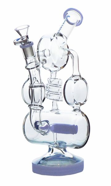 """GG193 - 12"""" Inline Recycler With Side Arms"""