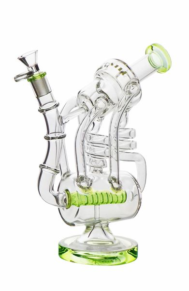 """GG195 - 10"""" Inline Recycler With Dual Spiral Rods"""