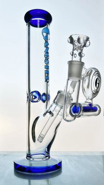 """GG175B - 13"""" STRAIGHT TUBE 7MM THICK AND ASHCATCHER COMBO"""