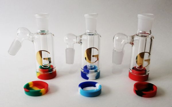 """ASH13 - 3.5"""" Reclaim Ashcatcher With Removable Silicone Container"""