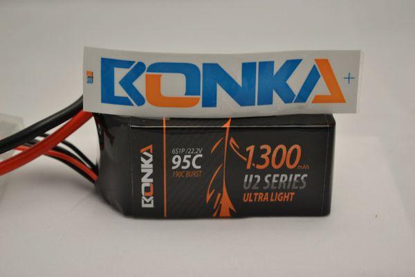 Bonka Power U2 1300mah 6s 95c battery