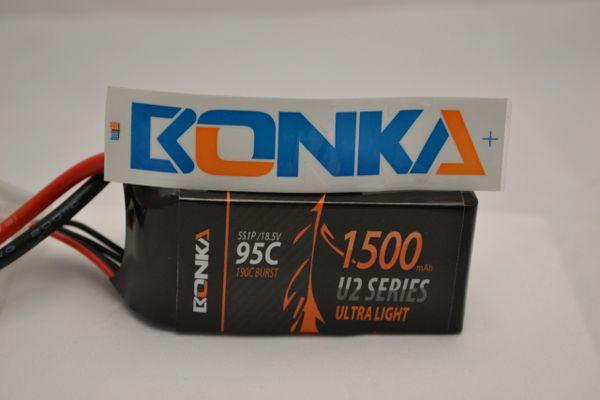 Bonka Power U2 1500mah 95C 5s battery