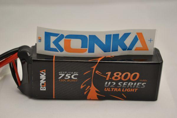 Bonka Power U2 1800mah 4s 75c battery