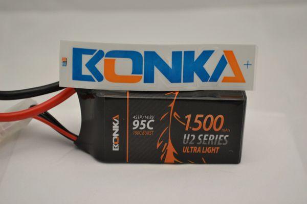 Bonka Power U2 1500mah 4s 95c battery