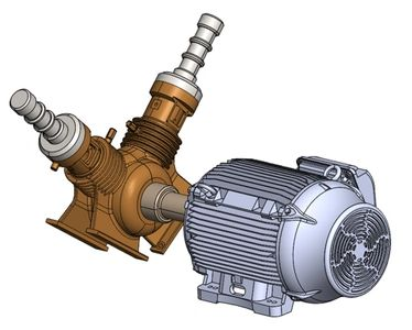 3D model of mechanical equipment