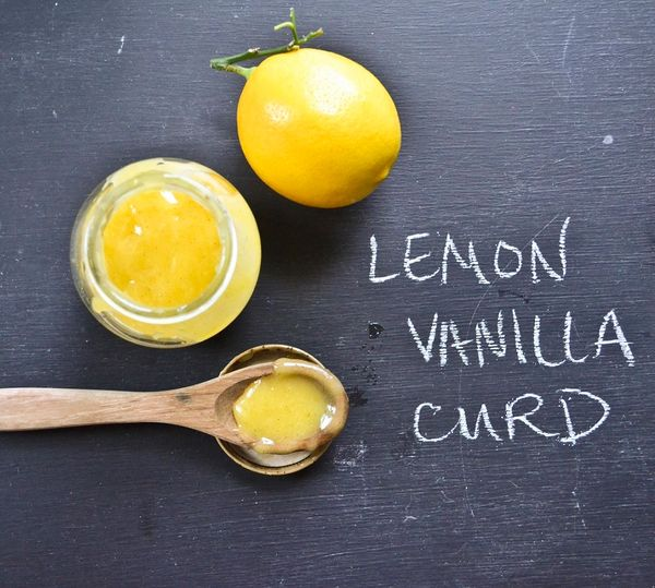 Meyer Lemon Vanilla Bean Curd