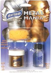 Metal Mania™ - Cosmetic Powdered Metals Set