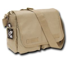 Military Messenger Bag Khaki
