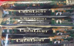 "Chem Light Tactical BLUE Glow Stick 6"" Pkg of 10"