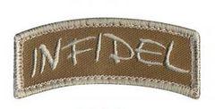 Infidel Shoulder Morale Patch