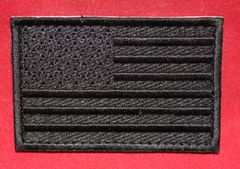 American Flag Patch - Black Subdued