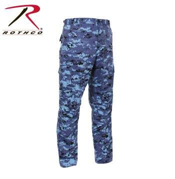 Sky Blue Digital BDU Pants