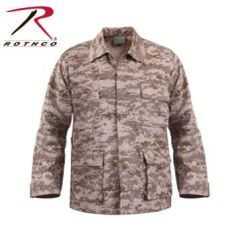 Desert Digital (Tan) BDU Shirt