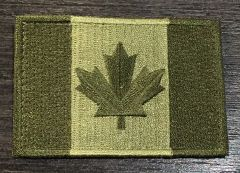 Canada Flag Patch - OD Green