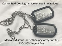 Custom Made Dog Tags