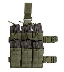 M4/M16 6 Mag Drop Leg Shingle Stacker - Colour Choice