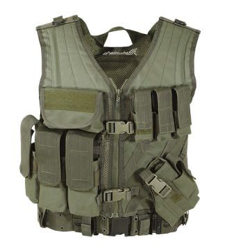 MSP-06 Entry Assault Vest (New & Enhanced) - Colour Choice