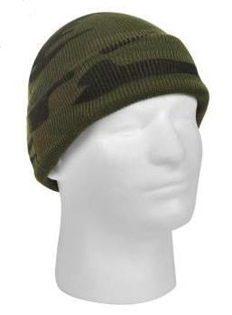 Deluxe Camo Watch Cap Woodland Camo